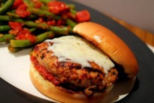 Chicken Marinara Burger